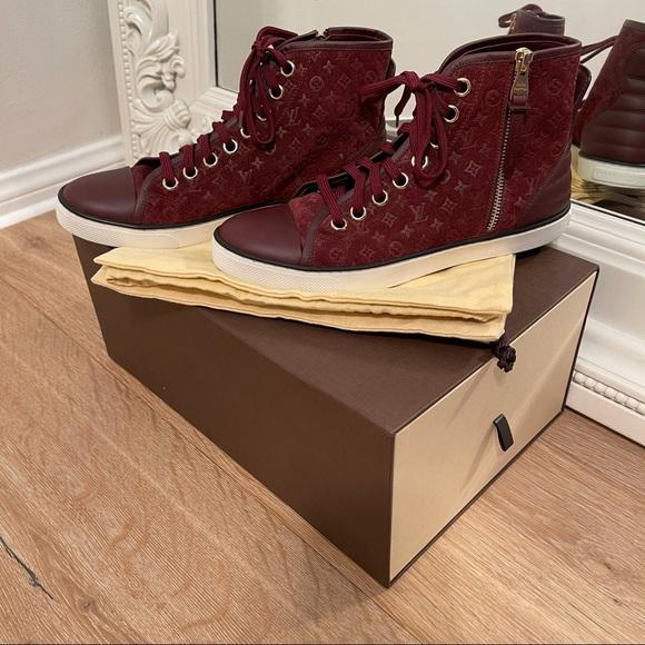 Louis Vuitton Empreinte Leather High Top Sneaker
